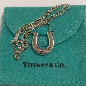 "Tiffany & Co. ""T&C"" Series Horseshoe Nekclace"